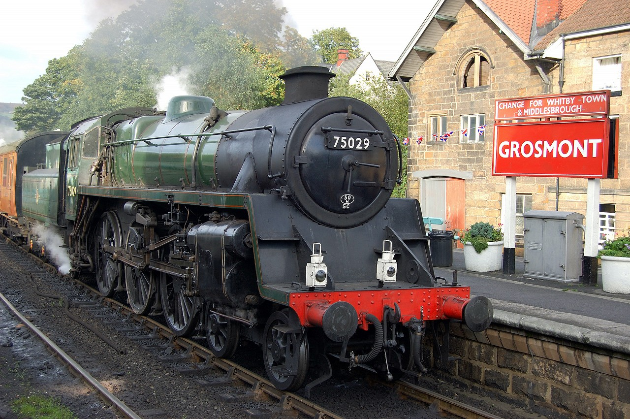 Steam Train in the North York Moors